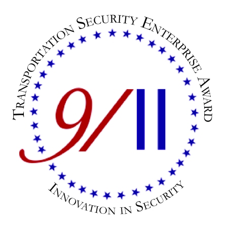 9/11 Transportation Security Rnterprise Award Logo