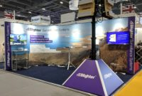 Blighter Exhibition Stand at DSEI 2019