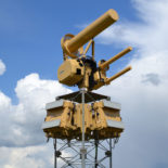 AUDS 360 Fixed Installation System on Four Legged Lattice Tower (Anti-UAV Defence System)