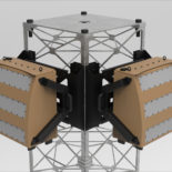 Blighter A800 3D Drone Detection Radar on Tower