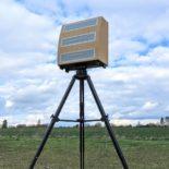 Blighter A800 3D Multi-Mode Radar on Tripod