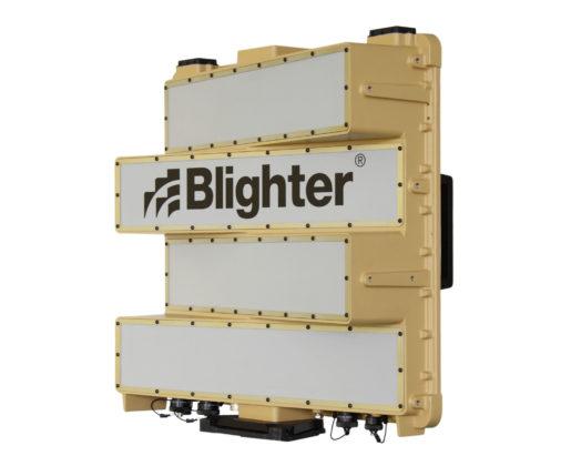 Blighter B202 Mk 2 Man Portable Ground Surveillance Radar (Angled View) (Light Stone)