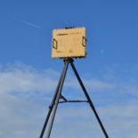 Blighter B202 Mk 2 Man Portable Ground Surveillance Radar on Tripod (Light Stone) (Rear View)