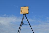 Blighter B202 Mk 2 Ground Surveillance Radar on Tripod (Light Stone) (Rear View)