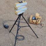 Blighter B202 Mk 2 Man Portable Ground Surveillance Radar on Tripod with Toughbook