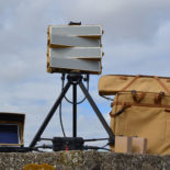 Blighter B202 Mk 2 Ground Surveillance Radar on Tripod with Toughbook, Batteries and Backpack