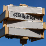 Blighter B303 Ground Surveillance Radar on Mounting Pole (Light Stone) (Front View)