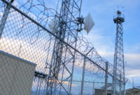 Blighter B400 Series Radar Units on Integrated Surveillance Tower for Land Border Security 1