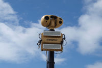 Blighter B400 Series Target Acquisition Radars with Camera on Vehicle Mast - Landscape - High Res