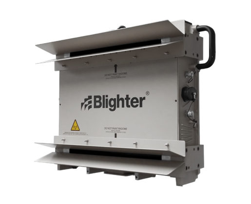 Blighter B402-SP Ground Surveillance Radar with W20 Antennas (Grey White)