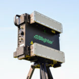 Blighter B402-SP Ground Surveillance Radar with W20S Antennas on Tripod (Green)