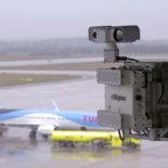 Blighter B422-SP Ground Surveillance Radar with W20S Antennas at Airport (Grey White)