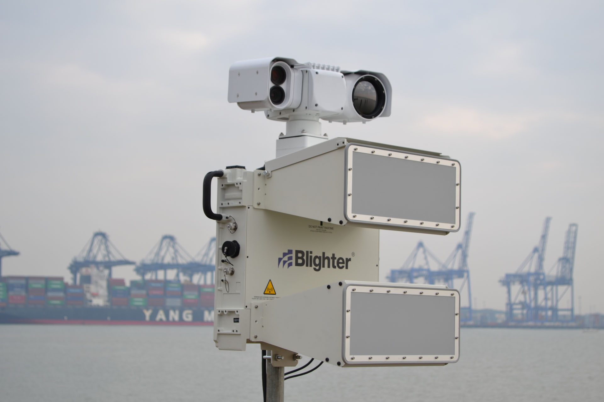 Blighter Sea Clutter Filter Enhances E Scan Radar S