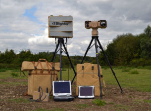 Blighter Explorer Portable Radar and Camera System