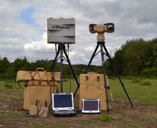 Blighter Explorer Portable Radar and Camera System (Dual Tripods)