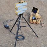 Blighter Explorer Portable Radar and Camera System (Single Tripod)