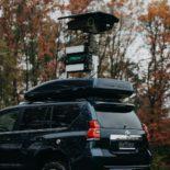 Blighter Orbiter Ground Surveillance Radar on Dat-Con Toyota Land Cruiser Vehicle 2