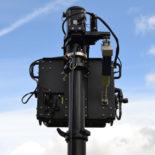 Blighter Orbiter Radar on Mast - Rear View
