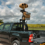 Blighter Scout Vehicle Mobile Radar and Camera System on Toyota Hilux