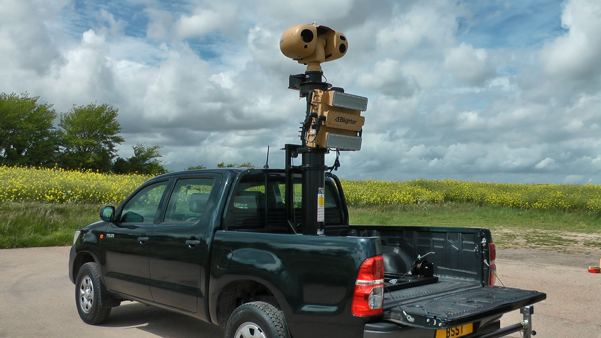 Blighter Unveils Rapid Deployment Radar Camera System For