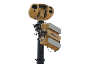 Blighter Scout Vehicle Mobile Radar and Camera System