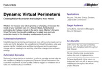 Updated Feature Note Published - Dynamic Virtual Perimeters